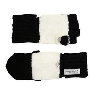 Calvin Klein Color Block 2Tone Flip Top Gloves